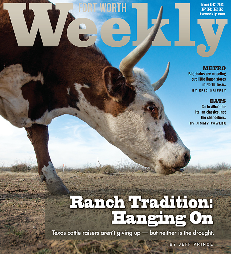 "March 6, issue of ""Fort Worth Weekly."" Photo by Robert Hart"